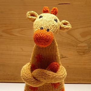 Wełniana Żyrafa FLORENTYNA