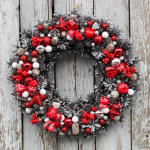 Wianek świąteczny na drzwi 10