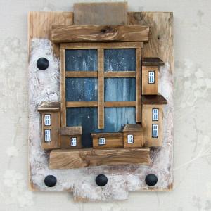 Wieszak na klucze - Okno na świat