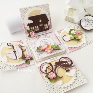 Wiosenne - pudełko ślubne