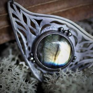 Wisior Oko Smoka - srebro
