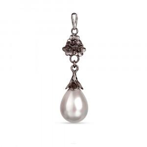 Wisiorek z perłami Seashell Liliana a780