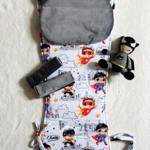 Wkładka do wózka w superbohaterów. Batman