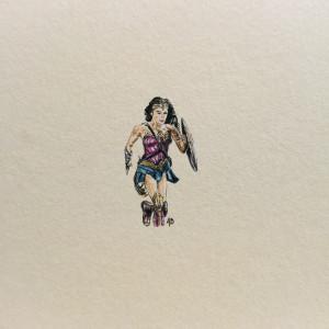Wonder Woman miniatura