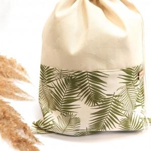 Worek bawełniany liście palmy