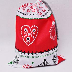 Worek prezentowy świąteczny worek na prezenty