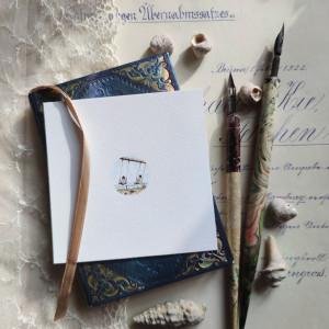 Wspomnienie z dzieciństwa, miniatura, prezent