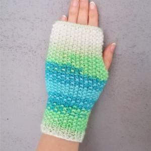 Wygodne, oryginalne rękawiczki typu mitenki.