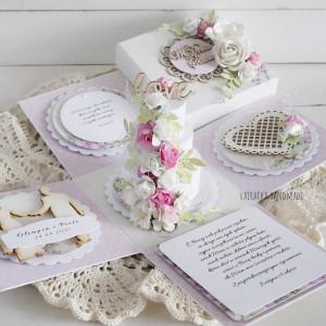 Z tortem na ślub