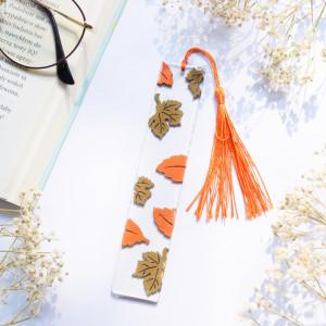 Zakładka do książki - jesienne liście