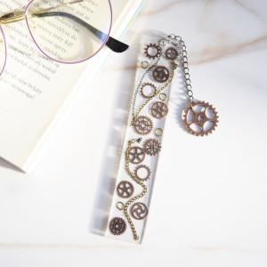 Zakładka do książki - mechanika brąz
