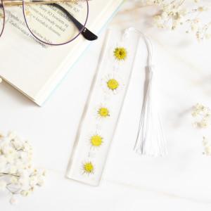 Zakładka do książki - stokrotki