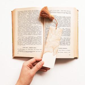 Zakładka do książki z chwostem Blaszki