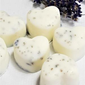 Zapach lawendy w wosku sojowym - natural 10 szt.