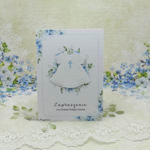 Zaproszenie na Chrzest Św z grafiką ZCH12