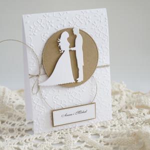 Zaproszenie ślubne - Wzór nr1