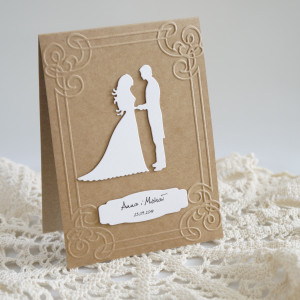 Zaproszenie ślubne - Wzór nr2