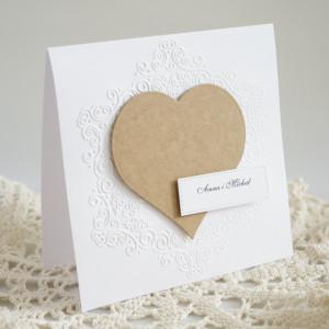 Zaproszenie ślubne - Wzór nr3
