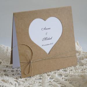Zaproszenie ślubne - Wzór nr5