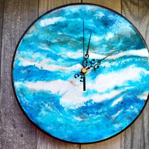 Zatopek Zegar błękitno-turkusowy
