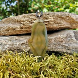 Zawieszka agat (zielona) #2