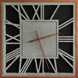 Zegar betonowy designerski Emperor kwadrat 60x60