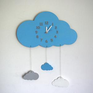 Zegar chmurka dla dziecka