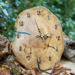 Zegar pokryty żywicą epoksydową C10 BLACK WEEK