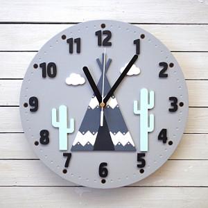 Zegar ścienny z tipi