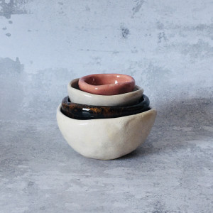 Zestaw Ceramicznych misek 24