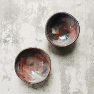 Zestaw ceramicznych misek 27
