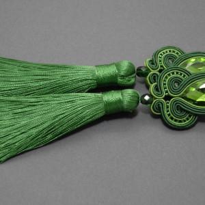 zielone kolczyki lub klipsy sutasz 1
