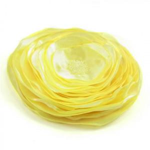 Żółty milin - broszka